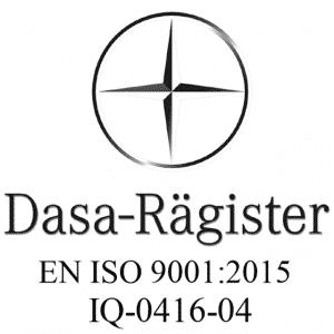 Quaeris è certificata UNI EN ISO 9001:2015