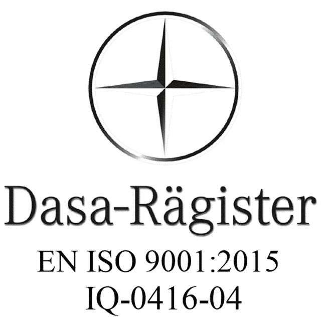 Quaeris is certified UNI EN ISO 9001:2015